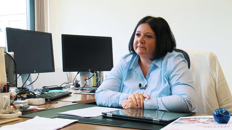 Monica Zurfluh, responsabile per la Svizzera Italiana del centro di competenza Swiss Global Enterprise