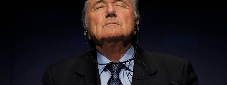 Sepp Blatter in una foto del 2010