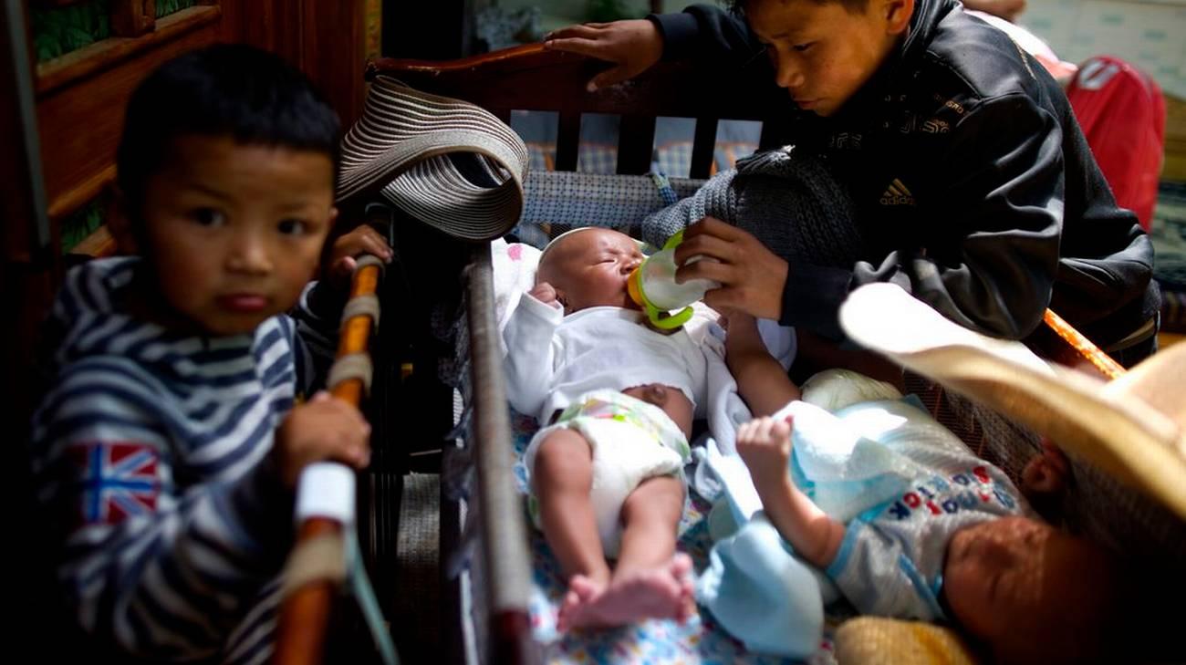 Un orfano 12enne si prende cura di altri bimbi abbandonati a Lhasa (foto d'archivio)