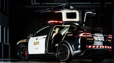 Poliziotti basilesi in Tesla