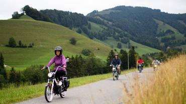 Casco da bici pure in motorino