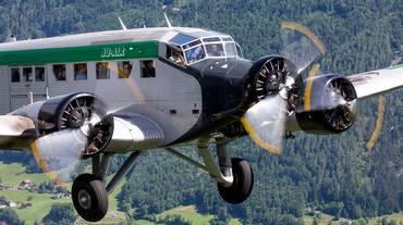 Divieto di volo per due JU-52