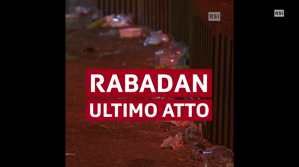 Rabadan, dopo la festa... le pulizie