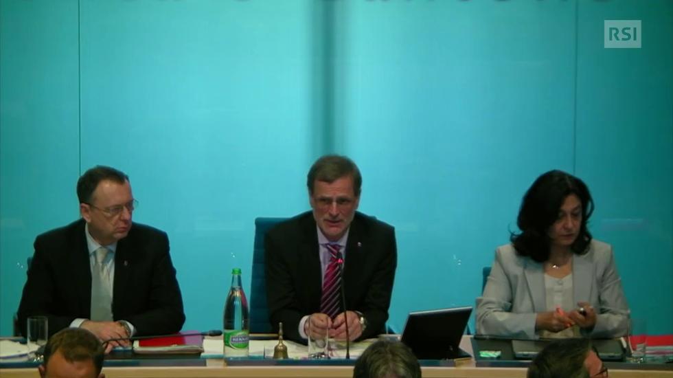La seduta del Gran Consiglio del 13 marzo 2018