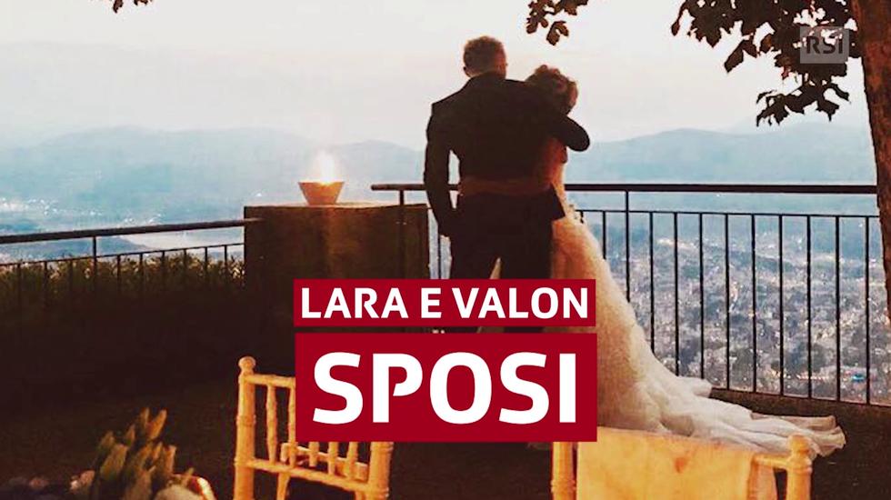 """Lara e Valon hanno detto """"Sì"""""""