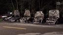 Giornico, cinque auto distrutte