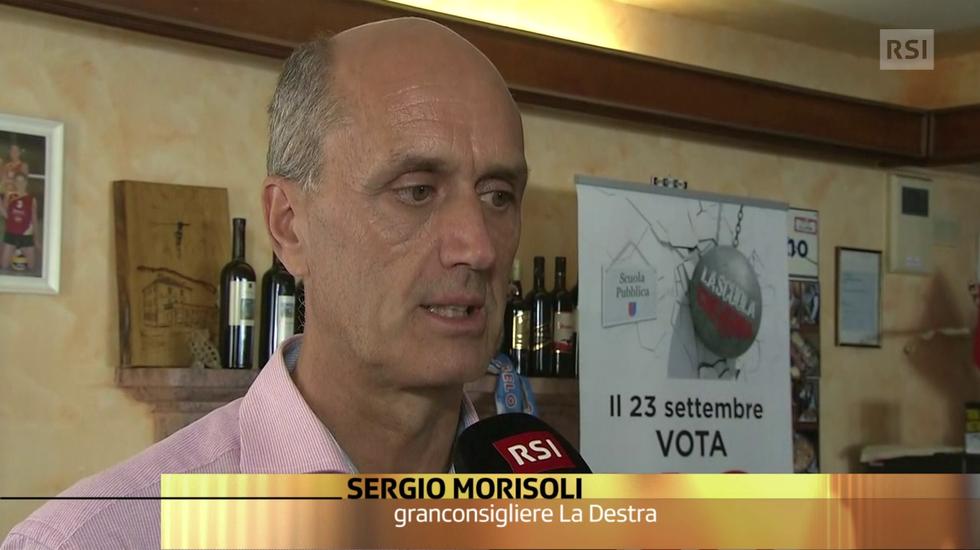 La reazione di Sergio Morisoli, fra i promotori del referendum