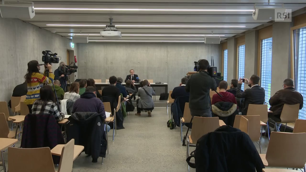 Argo 1: la conferenza stampa integrale del procuratore generale Andrea Pagani