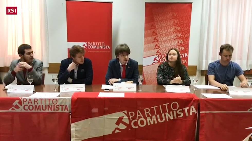 Il Partito comunista ticinese presenta i nomi in vista delle cantonali