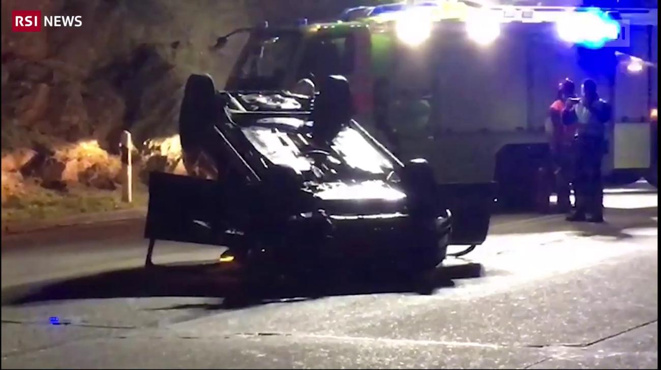 Incidente sulla strada del Monte Ceneri (RescueMedia) · Ticino ... 45d365ac2105