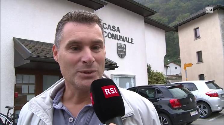"""Moreno Pedrazzi, sindaco Gnosca: """"è una giornata positiva"""" (RescueMedia)"""