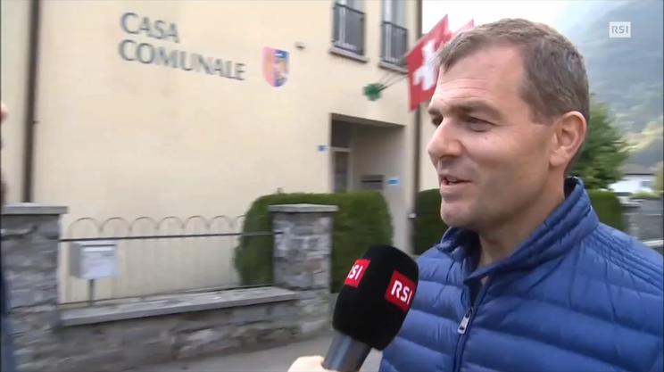"""Curzio De Gottardi, sindaco Lumino: """"non è un occasione persa"""" (RescueMedia)"""
