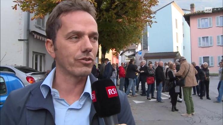 """Athos Maranta, sindaco di Camorino: """"esito molto soddisfacente"""""""