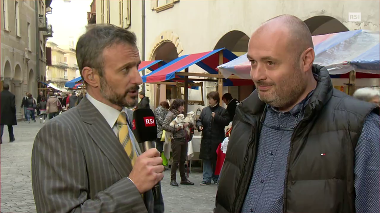 """Andrea Bersani, sindaco di Giubiasco: """"la responsabilità è grande"""""""