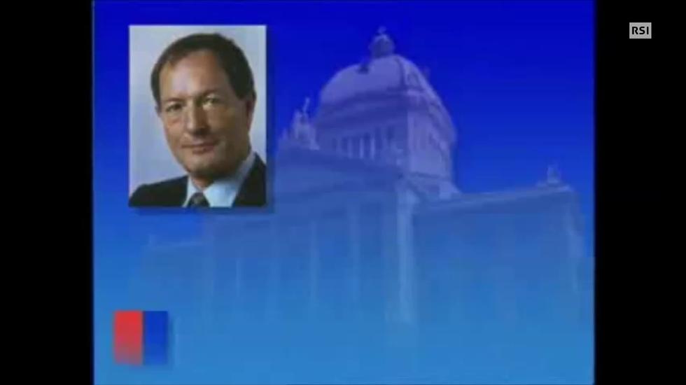 TG notte del 12.6.1995 Giorgio Morniroli, bilancio di legislatura