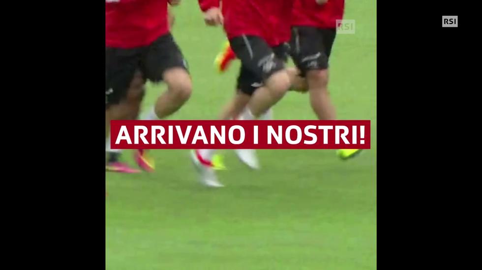 La nazionale a Lugano (11.01.2018)