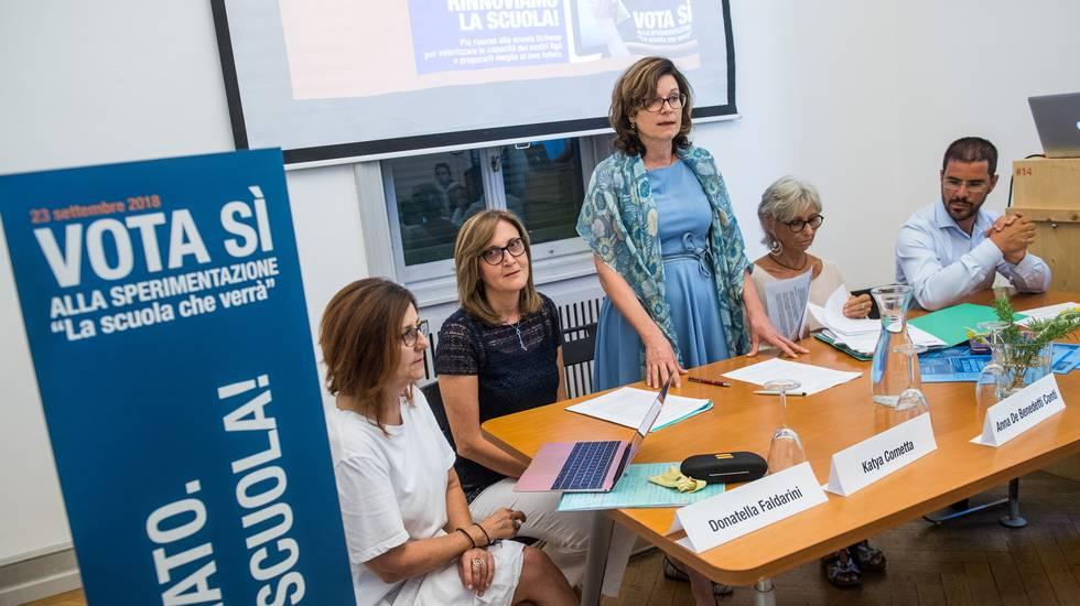 Notiziario 14.00 del 23.09.18: la reazione di Anna De Benedetti Conti, presidente dell'associazione a sostegno della riforma