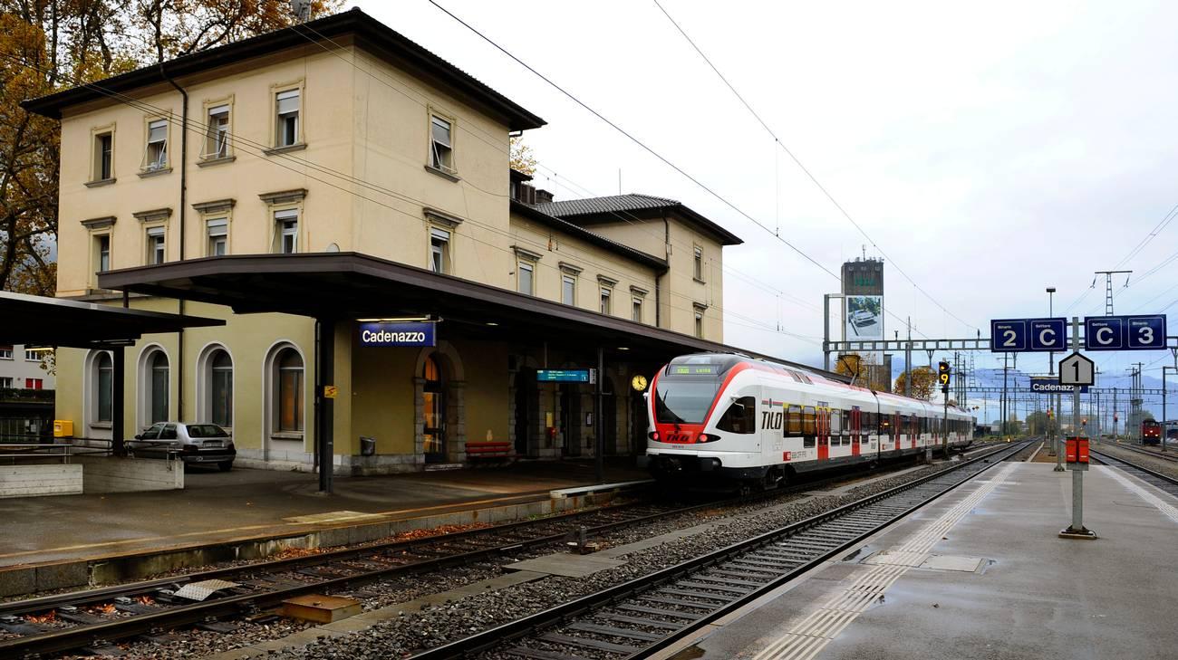 Cadenazzo, stazione di Cadenazzo...