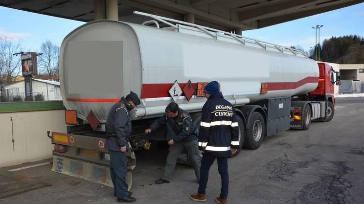 Carburante di contrabbando