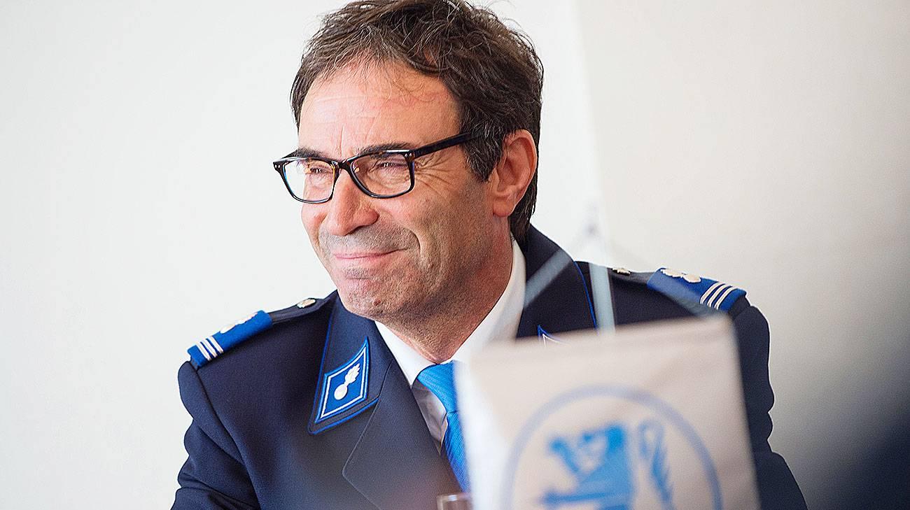 Dimitri Bossalini, comandante della polizia di Locarno e presidente dell'APCTi