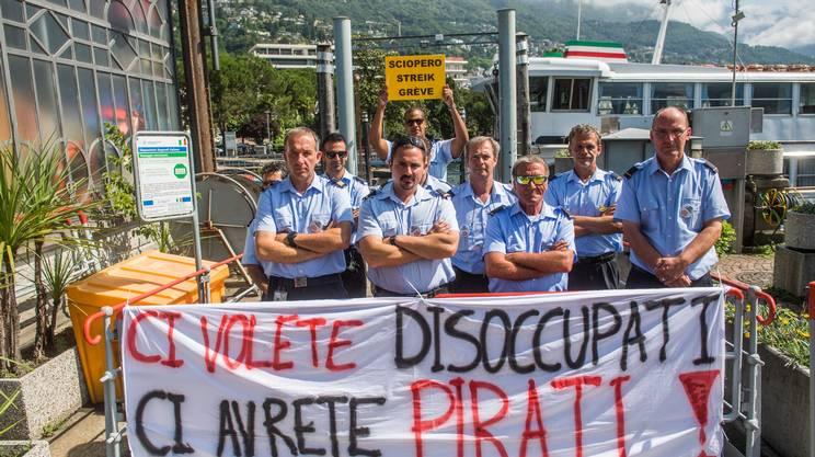 Verbano, lo sciopero prosegue