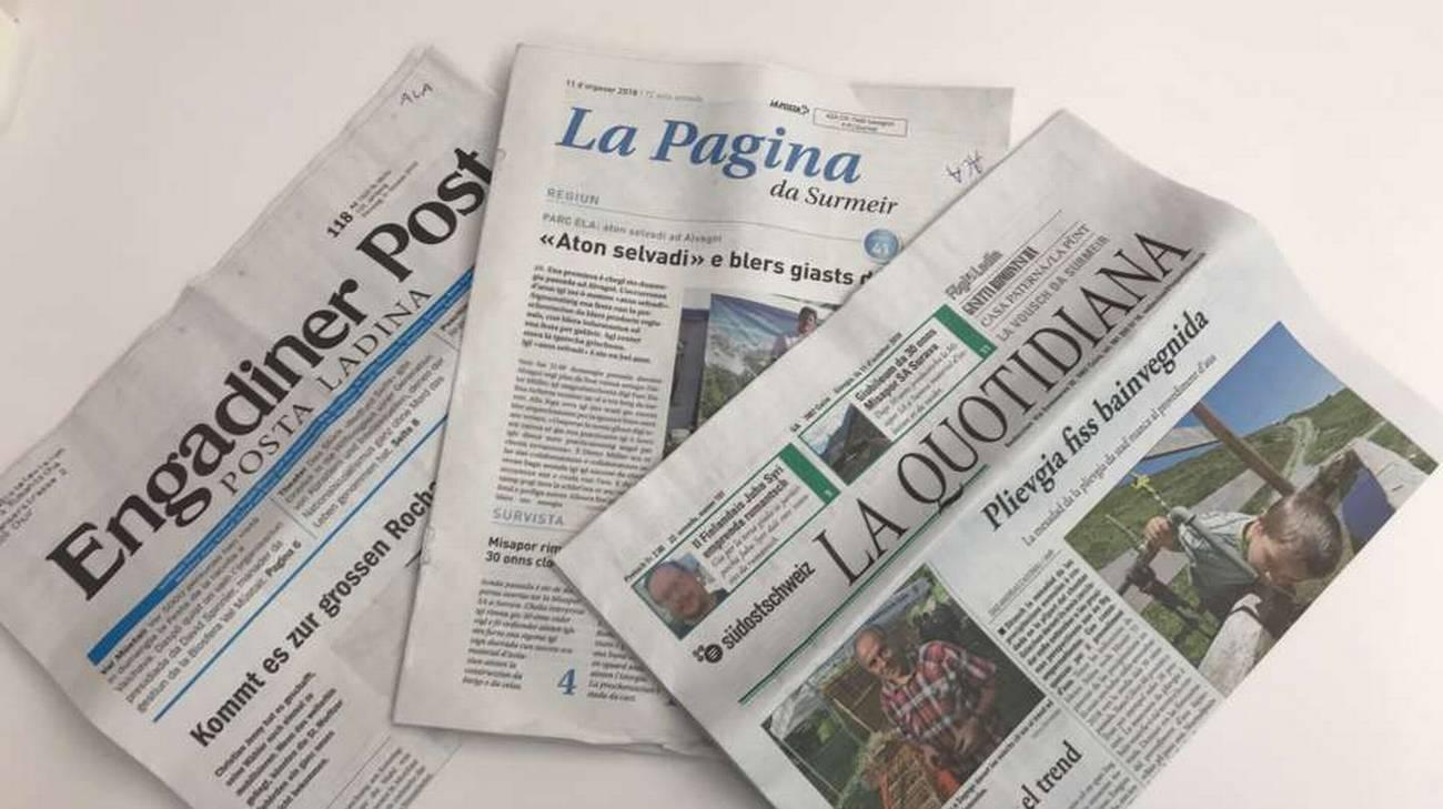 Engadiner Post, La Pagina e La Quotidiana