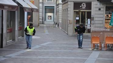 Accoltellamento a Lugano