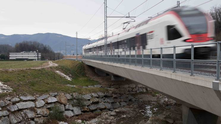 I TILO utilizzeranno regolarmente la nuova tratta ferroviaria dal 7 gennaio 2018