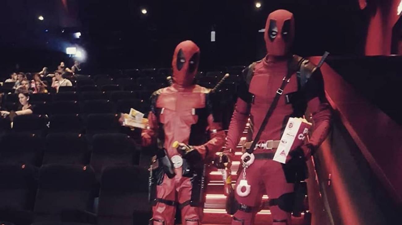 I due appassionati di cosplay luganesi sono arrivati a Locarno con circa un'ora di ritardo