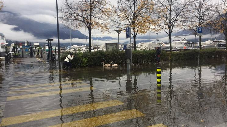 Acqua alta a Locarno