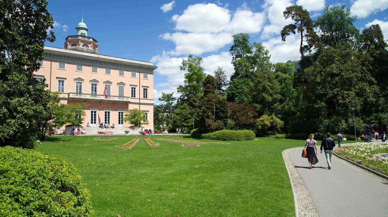 Il Parco Ciani di Lugano dal mese d'aprile ospiterà un