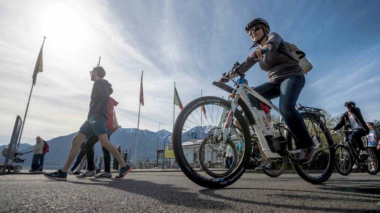 Il cantone vuol portare a 560 km la rete di percorsi riservati alla mobilità lenta
