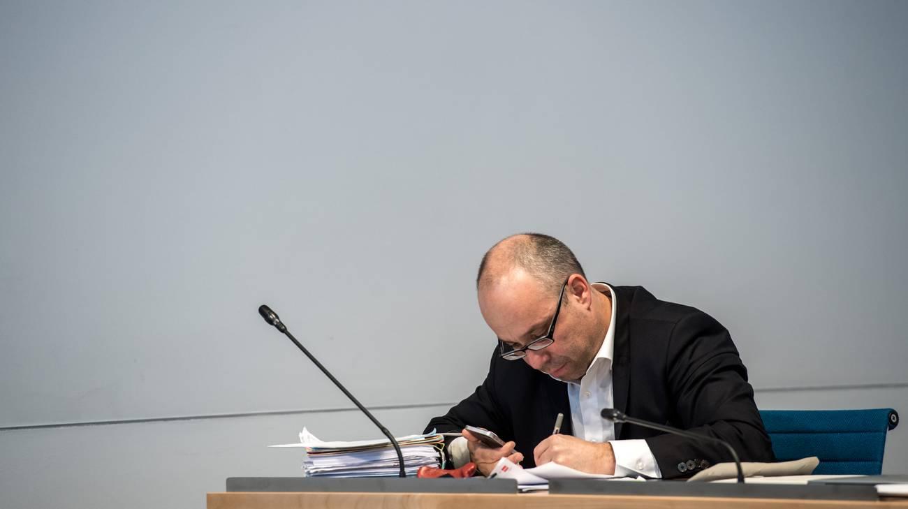 Il deputato dell'MPS Matteo Pronzini