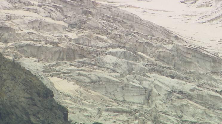 Il ghiacciaio del Moteratsch