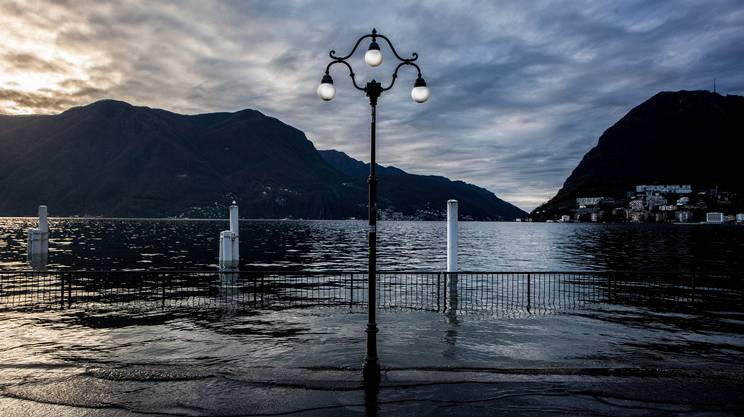 Il lago a Lugano