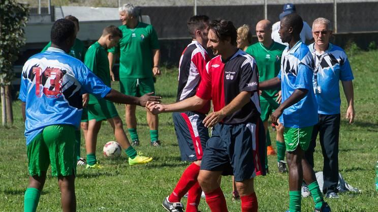 Il match si è svolto nell'ambito di un triangolare organizzato dal patriziato