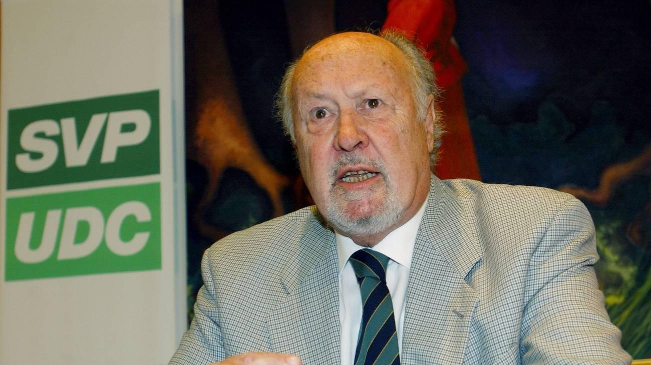 Il medico locarnese, leader democentrista, aveva 82 anni