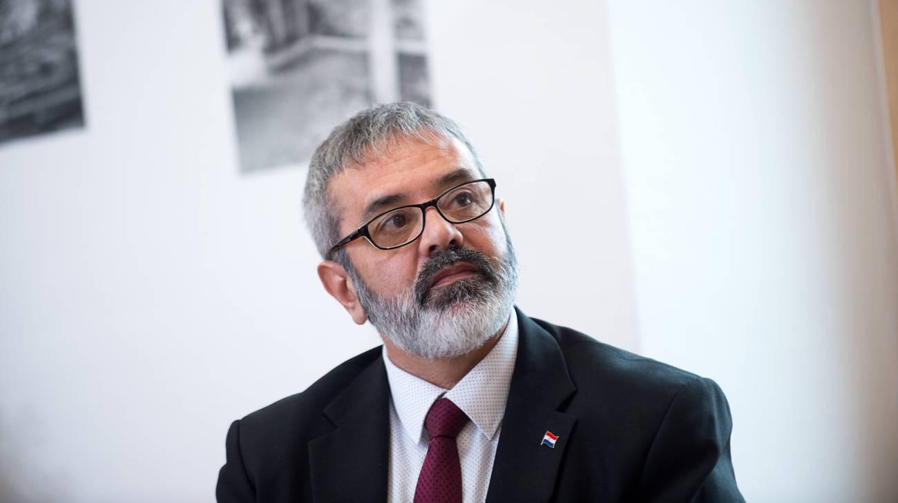Il ministro paraguayano della Cultura Fernando Griffith era in Val di Blenio per il gemellaggio