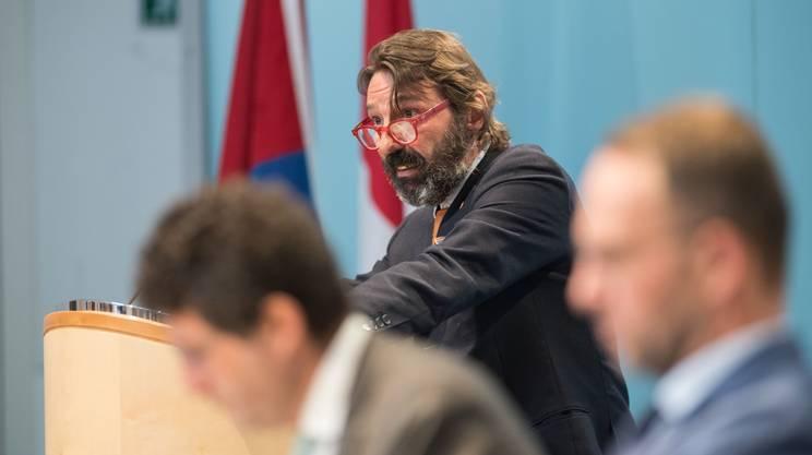 Il presidente della CPI, il leghista Michele Foletti