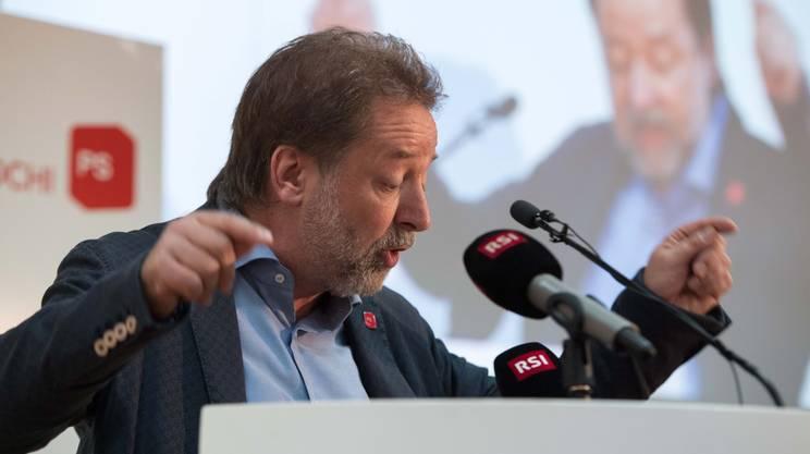 Il presidente uscente Igor Righini