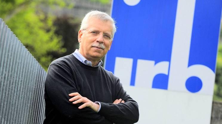 Il professor Antonio Lanzavecchia, direttore dell'IRB
