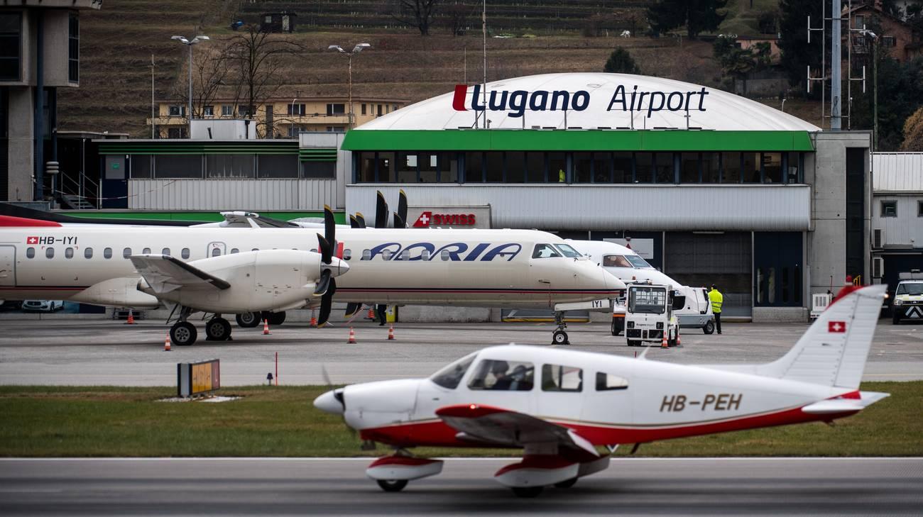 Il volo Lugano-Ginevra?