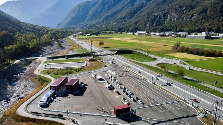 In caso di necessità il centro di controllo è collegato anche all'area di sosta e al sistema viario cantonale