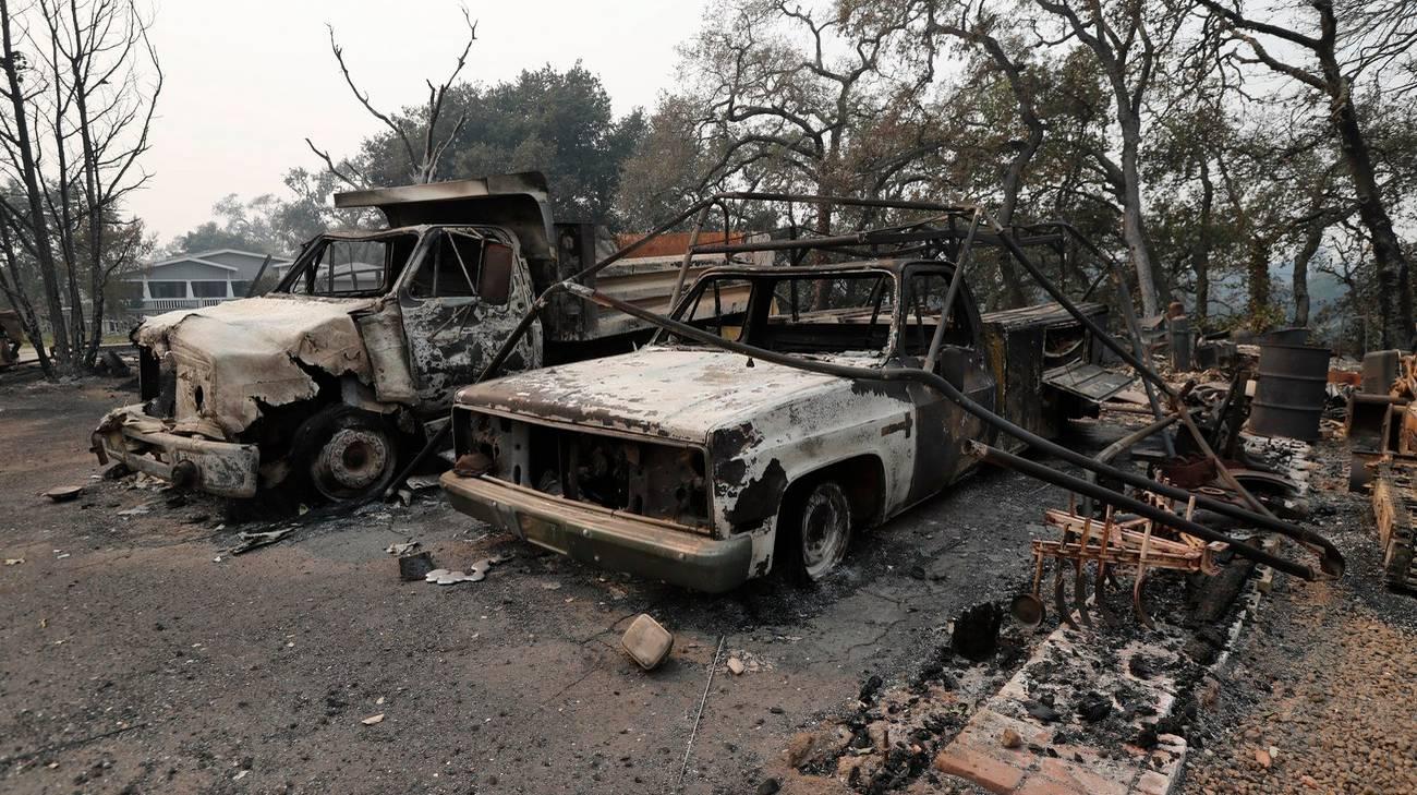 Incendi a Napa, Sonoma e Mendocino
