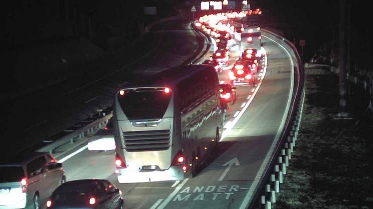 La colonna verso il Ticino si era formata già nella notte al San Gottardo