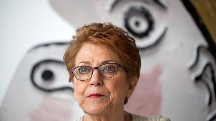 La curatrice Carmen Giménez