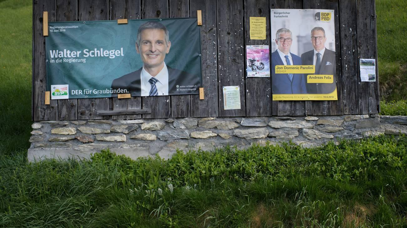 La differenza tra Schlegel e Parolini è di soli 68 voti