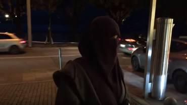 A spasso a Lugano col niqab