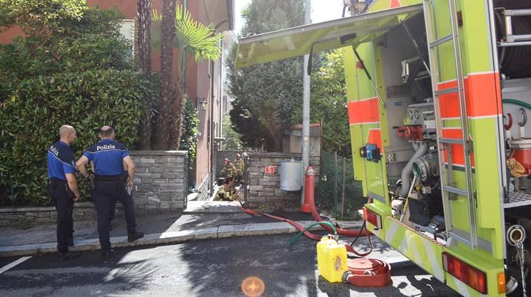 Due pompieri intossicati
