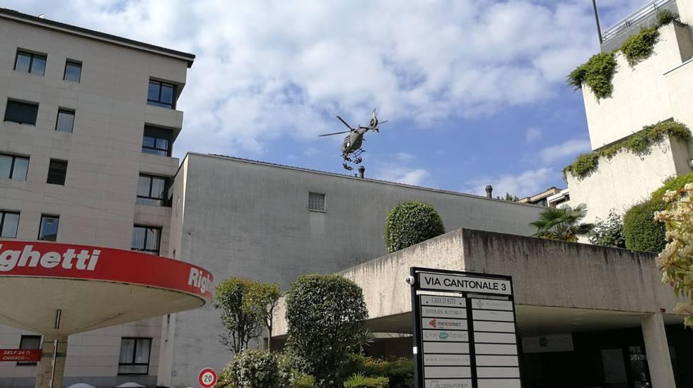 Forze speciali in azione a Lugano